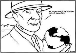 Ilustración: El Roto, para el Observatorio de Privatizaciones.