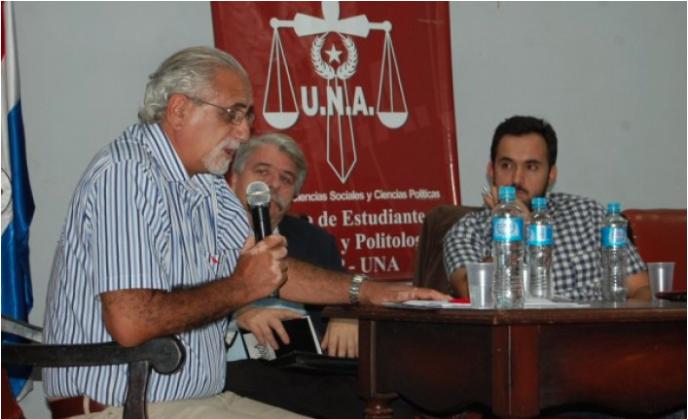 El economista uruguayo Antonio Elías estuvo por Asunción en un seminario. Foto: BI