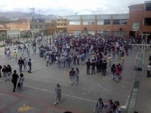Colegio Distrital José Celestino Mutis. Foto: Lizeth Lopez