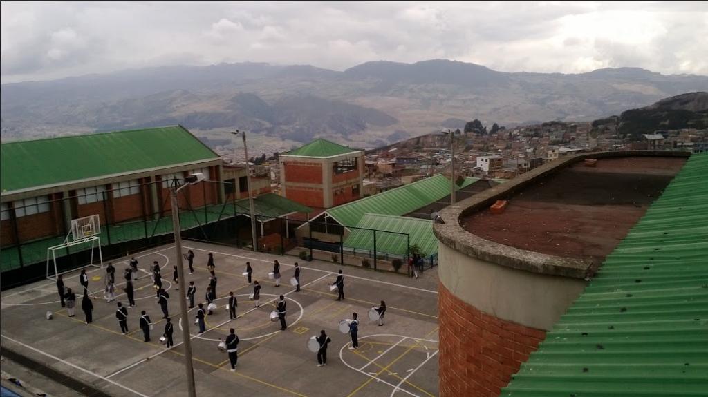 Colegio San Cayetano, gestionado por ColSubsidio. Foto: Lizeth López