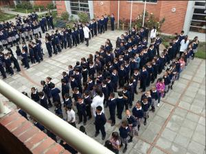 Colegio Hernando Durán Dusan. Foto: Lizeth López.
