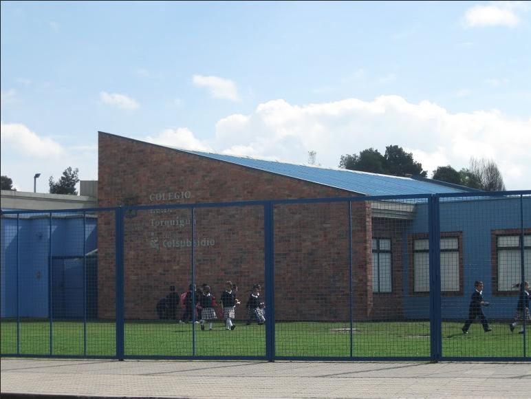 Colegio Torquigua, gestionado por ColSubsidio. Foto: Lizeth López