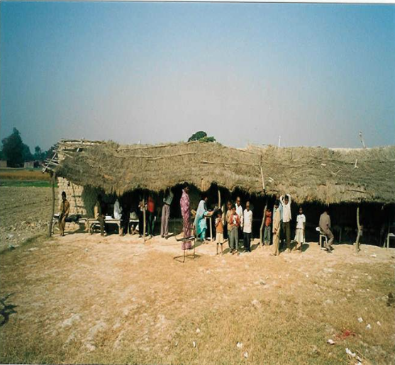 Escuela privada de bajo costo en Lucknow District, Uttar Pradesh, India. Foto: Oxfam blogs