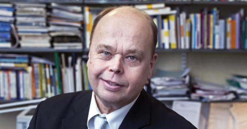 El experto en educación Jari Lavonen. Foto: El Mostrador
